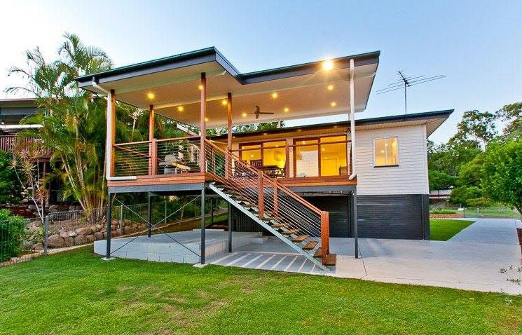 River City Constructions backyard deck