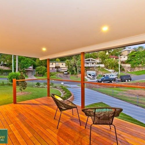 River City Constructions Belclare timber front deck