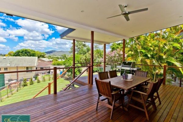 River City Constructions Belclare timber back deck
