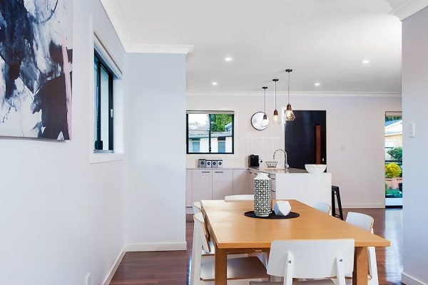 River City Constructions Cestrum dining and kitchen