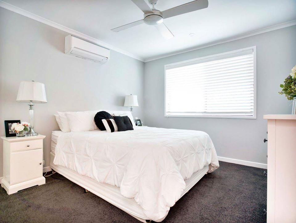 River City Constructions Belclare soft grey bedroom