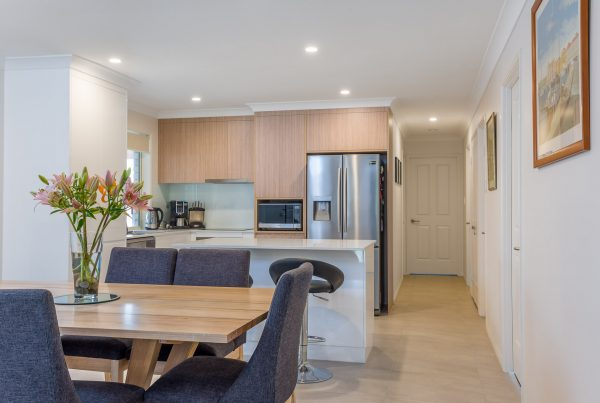 river city constructions dining and kitchen area