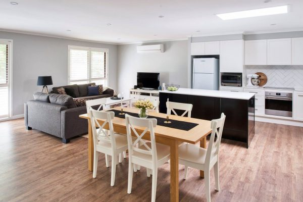 River City Constructions Belclare open plan living dining kitchen