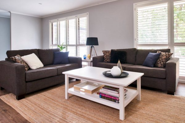 River City Constructions Belclare living room