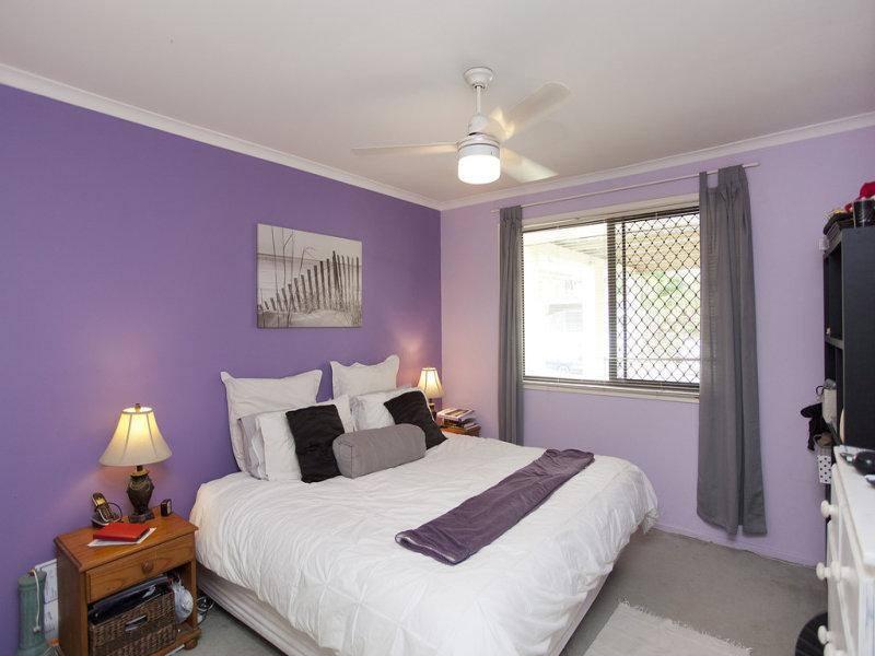 River City Constructions Belclare purple bedroom before renovation